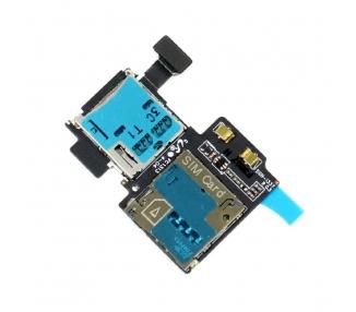 Flex Lector Tarjeta Sim Micro SD para Samsung Galaxy S4 I9505 REV0.5 Samsung - 2