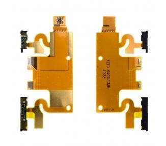 FLEX DE CARGA FPC PARA SONY XPERIA Z1 L39H C6902 C6903 C6943 REPUESTO CONECTOR