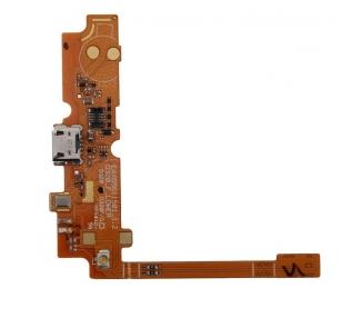Flex Conector Carga con Microfono para LG L70, D320, L65, D280