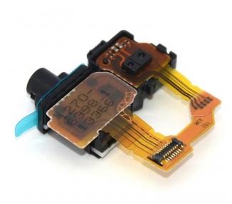 Flex Conector Audio Jack y Sensor Proximidad para Sony Xperia Z1 C6902 L39H