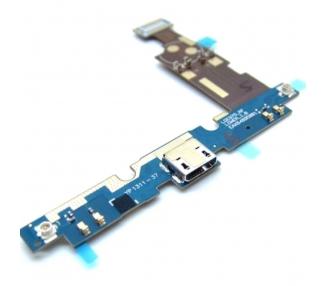 Flex conector MICRO USB / MICROFONO / dock de carga para LG OPTIMUS G E975