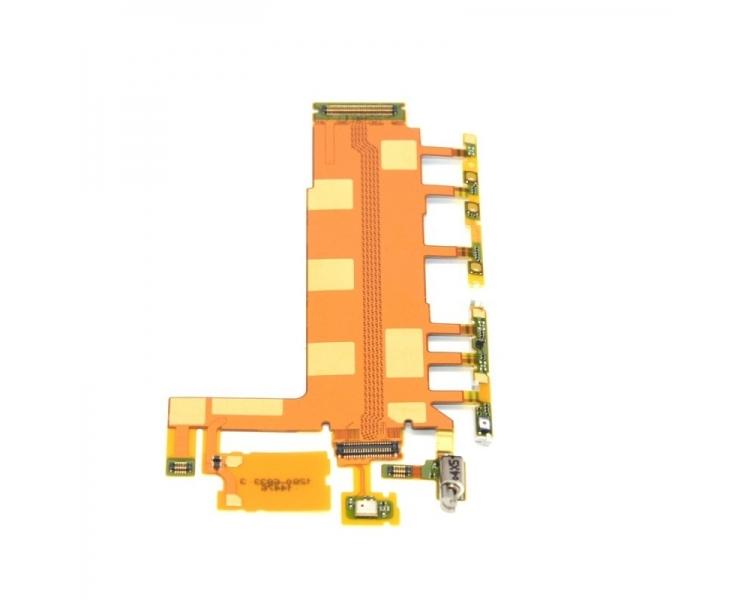 Flex Cable Power Przyciski Wibrator głośności do Sony Xperia Z3
