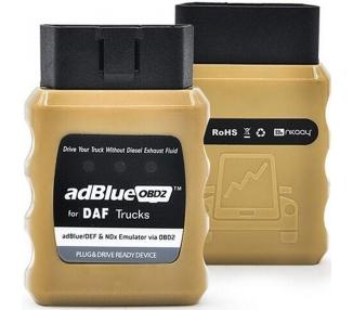 Emulador sistema Adblue para Camiones y Autobuses DAF con sistema Euro 4/5