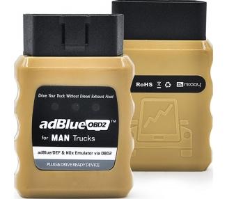 Emulador sistema Adblue para Camiones y Autobuses MAN con sistema Euro 4/5 PLUG