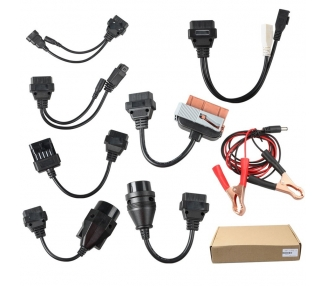 KIT 8 CABLES OBD2 COCHES PARA EQUIPOS DE DIAGNOSIS / UNIVERSAL / FULL CABLES ULTRA+ - 1