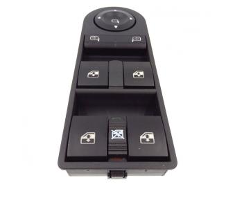 Botonera elevalunas interruptor boton ventana espejos Opel Astra H III Zafira B
