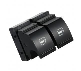 Boton doble interruptor elevalunas de ventana GOLF 5 JETTA PASSAT B6 VW botonera