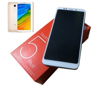 Xiaomi Redmi 5 Plus 64GB + 4GB RAM Dual Sim - Multilenguaje - Dorado Xiaomi - 1