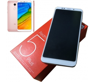 Xiaomi Redmi 5 Plus 64GB + 4GB RAM Dual Sim * Multilenguaje * Rosa