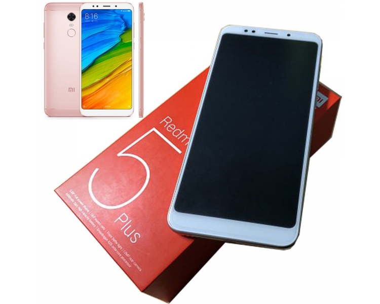Xiaomi Redmi 5 Plus 64GB + 4GB RAM Dual Sim - Multilenguaje - Rosa Xiaomi - 1