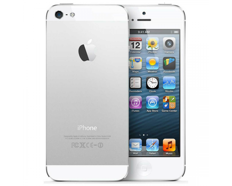 Apple iPhone 5 | White | 64GB | Refurbished | Grade A+ Apple - 1