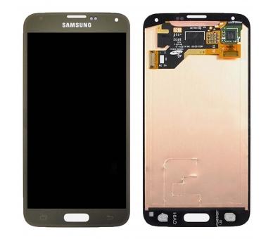 Oryginalny pełny ekran do Samsung Galaxy S5 G900F Gold Gold Samsung - 2