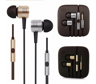 Originales Xiaomi Piston Pistons 2 Headphones Grey Color  - 1