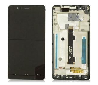 Pełny ekran dla BQ Aquaris E5 E5HD Czarny Czarny Ramka IPS5K0759FPC-A1-E