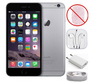 Apple iPhone 6 | Grey | 16GB | Refurbished | Grade A+ | No Touch iD Apple - 1