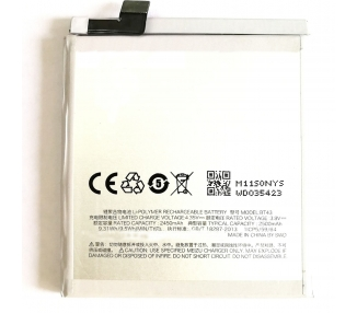 Battery For Meizu M1 , Part Number: BT43  - 2
