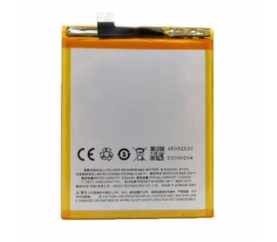 Battery For Meizu M2 Note , Part Number: BT42C  - 2