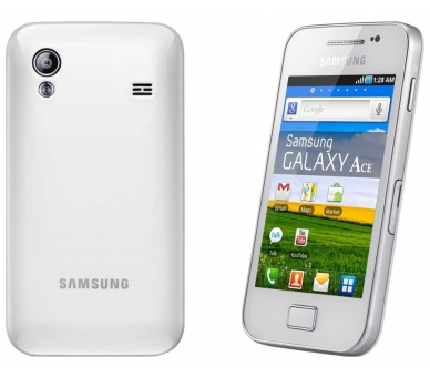 Samsung Galaxy Ace | White | 128MB | Refurbished | Grade A+ Samsung - 1