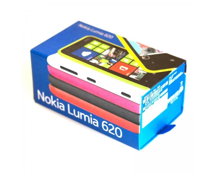 Telefono Movil Original Nokia Lumia 620 / Libre de fabrica Nuevo / Blanco Nokia - 1