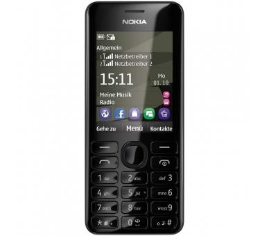 Nokia Asha 206 2060 - Negro - Nokia - 2