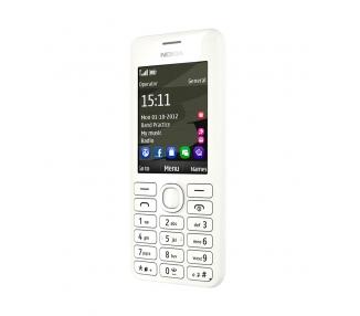 Nokia Asha 206   White   64MB   Refurbished   Grade A+