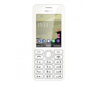 Nokia Asha 206 | White | 64MB | Refurbished | Grade A+ Nokia - 3