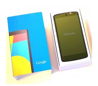 LG Nexus 5 16GB - Negro - Libre - A+ LG - 1