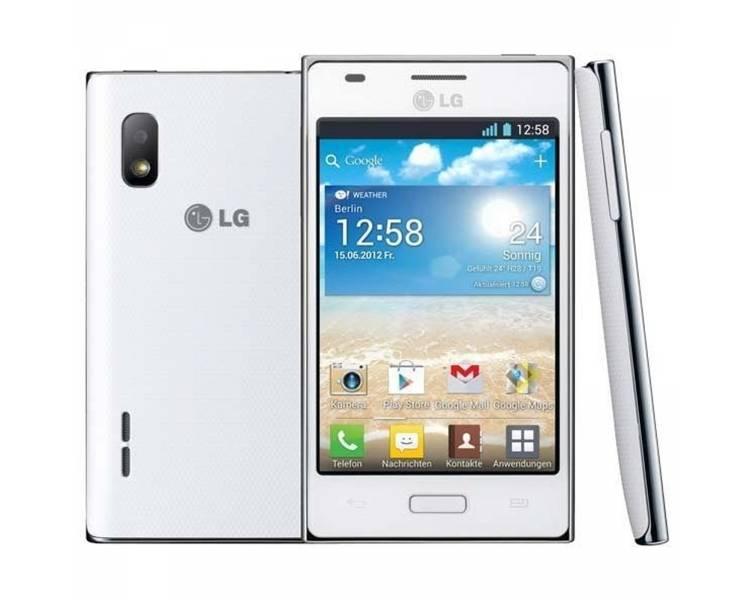 "LG Optimus L5 E620 4 Android 4.0 4 GB 512 MB RAM 5 MP WIFI GPS """