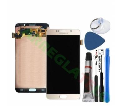 Origineel volledig scherm voor Samsung Galaxy Note 5 N920F Gold Gold Gold Samsung - 1