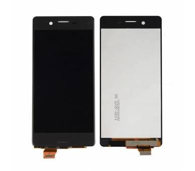 Volledig scherm voor Sony Xperia F F5121 F5122 Zwart Zwart FIX IT - 2