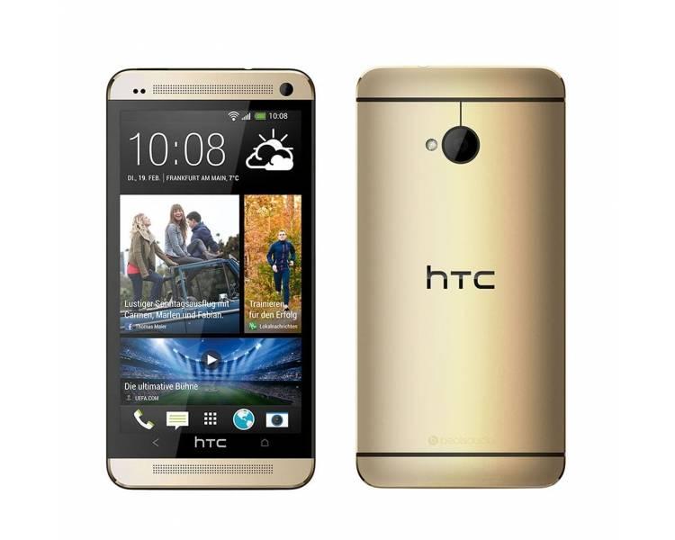HTC One M7   Gold   32GB   Refurbished   Grade A+ HTC - 1