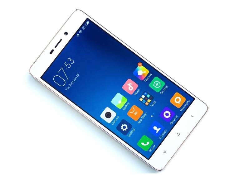"Xiaomi Redmi 3 PRO 5 2GB Ram 16GB Rom Snapdragon 616 Verzending 48H Zilver Wit "" Xiaomi - 1"
