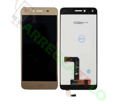 Volledig scherm voor Huawei Y5 2 Y5-2 II REF: TXDT500QYPA-213 Gold Dorado FIX IT - 2