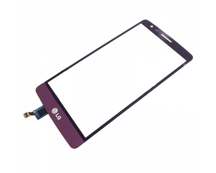 Digitizer z ekranem dotykowym do LG G3 S Mini G3S D722 Purple Pink