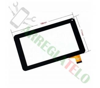 Pantalla Tactil Digitaliazdor para Tableta Prixton T7005 - Salty 7 Negro Prixton - 1