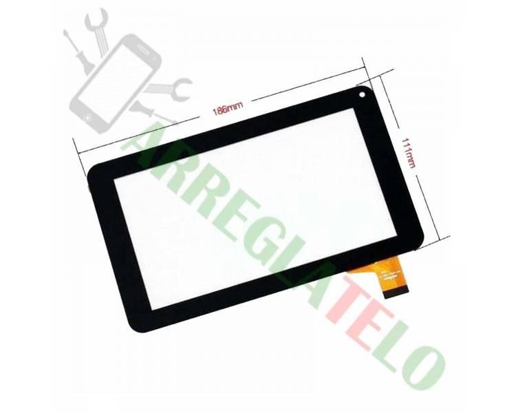 Cyfrowy panel dotykowy do tabletu Prixton T7005 - Salty 7 Black
