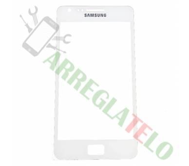 Bildschrim Touchscreen Glass für Samsung Galaxy S2 i9100 Weiß ULTRA+ - 1