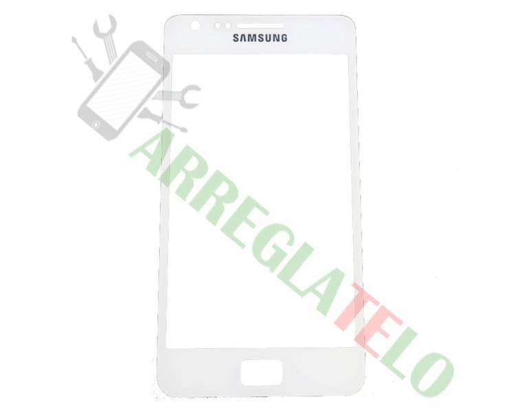Touch Screen Digitizer voor Samsung Galaxy S2 i9100 Wit ARREGLATELO - 1