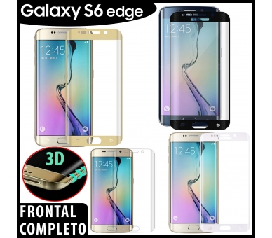 3D Curved Screen Protector for Samsung Galaxy S6 Edge  - 1
