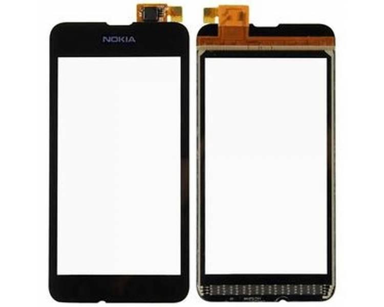Digitizer z ekranem dotykowym do telefonu Nokia Lumia 530 Black Black