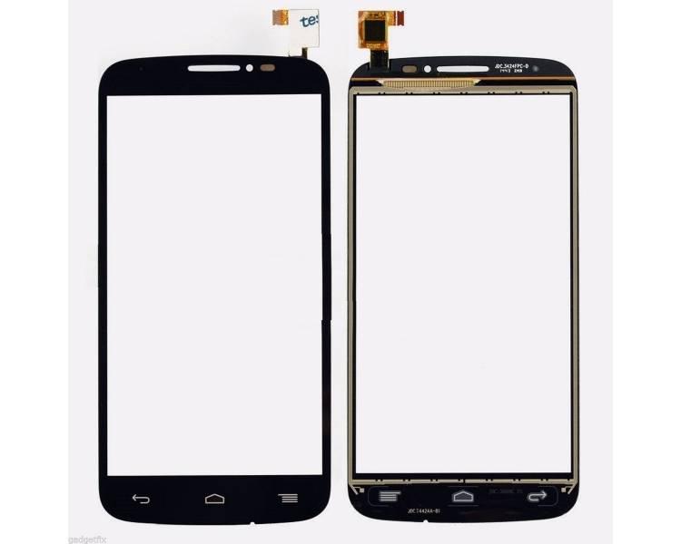 Ekran dotykowy do Alcatel One POP C7 Czarny Czarny 7040 7041 OT7040 OT7041 X