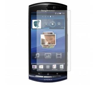 Lamina protector de pantalla Sony Ericsson Xperia Neo MT15i LCD Screen Protector  - 1