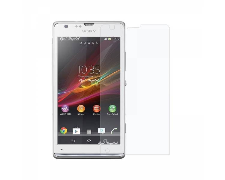 SCREEN PROTECTOR FILM voor SONY ERICSSON XPERIA TIPO ST21i LCD SCREEN  - 1