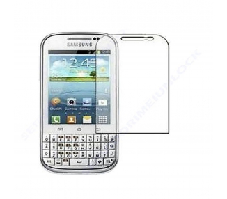PROTECTOR DE PANTALLA FILM para SAMSUNG GALAXY CHAT B5330 LCD SCREEN