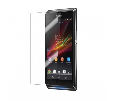 SCREEN PROTECTOR FILM voor SONY XPERIA J ST26I LCD SCREEN  - 1