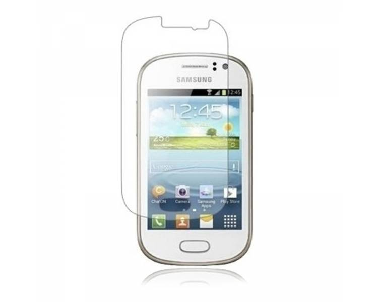 SCREEN PROTECTOR FILM voor SAMSUNG GALAXY MINI S5570 LCD-SCHERM  - 1