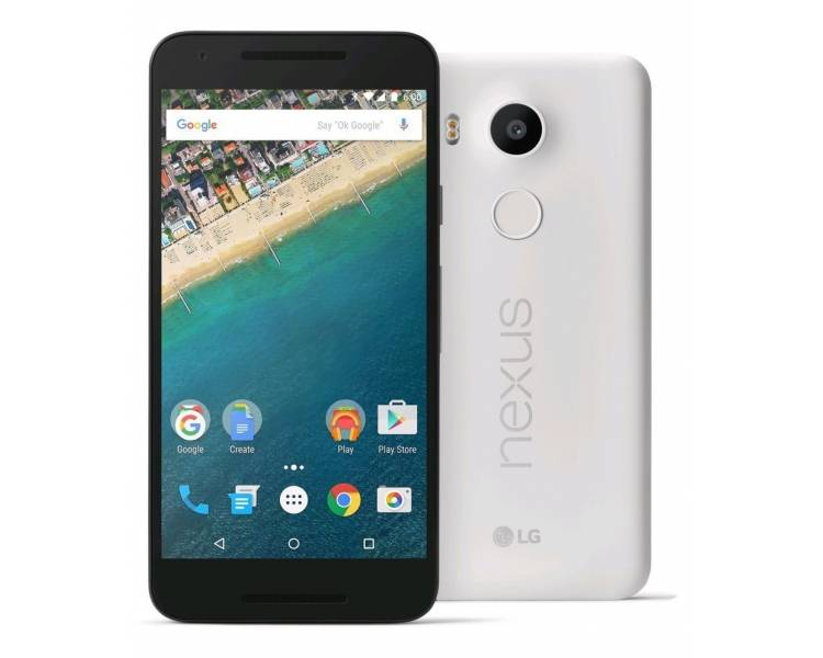 "LG Nexus 5 16GB GPS IPS 4.95"" Android 6.0 Quad Core 2GB RAM 8MP Blanc LG - 1"