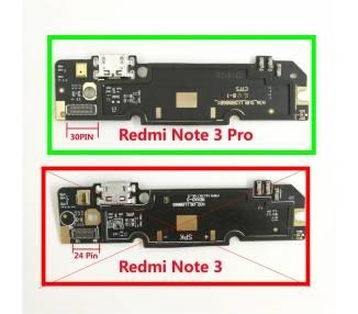 Lademikrofonantenne für Modulplattenanschluss für Xiaomi Redmi Hinweis 3