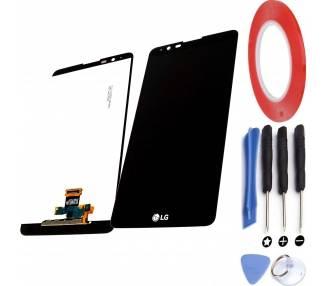 Display For LG Stylus 2, Color Black