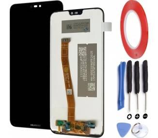 Pantalla Completa para Huawei P20 Lite Negro Negra  - 1
